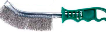 Stainless steel scratch brush