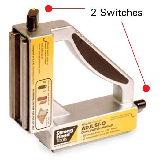 Strong Hand 90 Degree Dual Switch Magnet