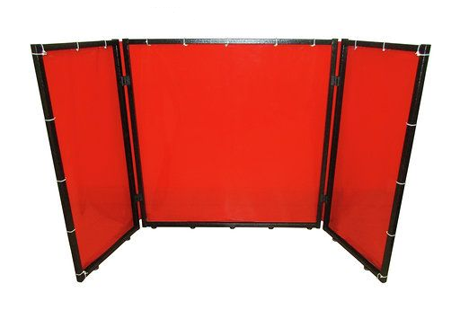 Table top welding screen